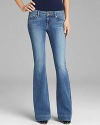 J Brand Jeans 722 Love Story Flare In Cosmic
