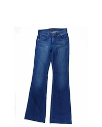 James Jeans Teal Blue Humphrey High Rise Flare Leg Jeans