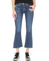 Rag & Bone Jean Crop Flare Jeans
