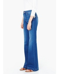 Mango Outlet Flared Martina Jeans