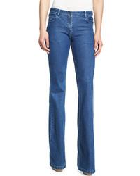 Michael Kors Michl Kors Collection Medium Wash Flared Jeans Indigo