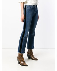 Pt05 Side Panel Flared Jeans