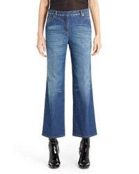 Valentino Studded Wide Leg Jeans