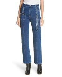 See by Chloe Tassel Bootcut Jeans