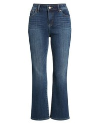 Vince Camuto Two By Cropped Flare Jeans