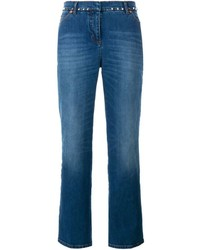 Valentino Rockstud Flared Leg Jeans