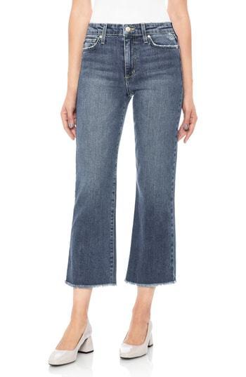 Joe's Wyatt Crop Wide Leg Jeans