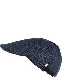 Blue Flat Cap