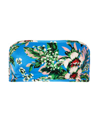 Diane von Furstenberg Floral Print Bandeau Bikini Top