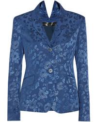 Javia floral jacquard blazer medium 117087