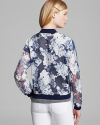 Lucy Paris Jacket Floral Organza Bomber | Where to buy &amp how to wear