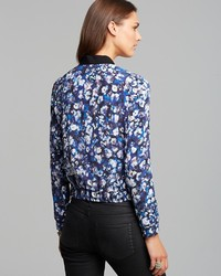 Rebecca Taylor Jacket Floral Bomber | Where to buy &amp how to wear