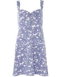 Dorothy Perkins Blue Floral Twist Sundress