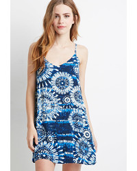 Forever 21 Floral Tie Dye Dress