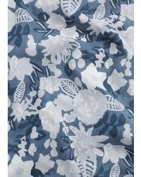 Mango Outlet Floral Cotton Scarf