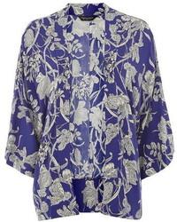 Dorothy Perkins Blue Floral Kimono