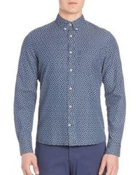 J. Lindeberg Dani Button Down Floral Shirt