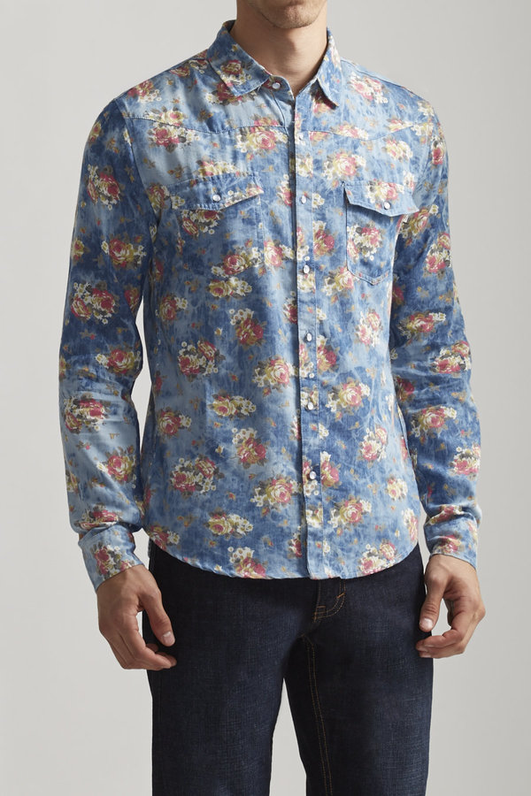 Soul Star Floral Denim Shirt | Where to buy & how to wear
