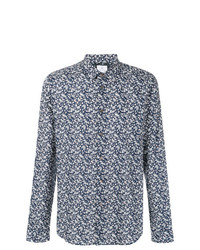 Ps By Paul Smith Floral Foliage Print Shirt