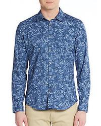 Regular fit bijou floral print sportshirt medium 582228
