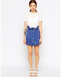 See by chlo floral mini skirt medium 174212