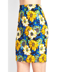 13f30d680c Forever 21 Watercolor Floral Pencil Skirt, $15 | Forever 21 ...
