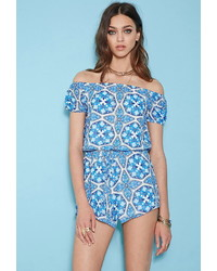 Forever 21 Rise Of Dawn Morrocan Dreaming Romper