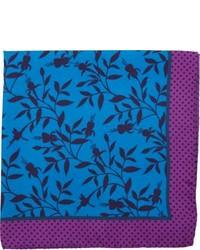 Floral print pocket square medium 180041