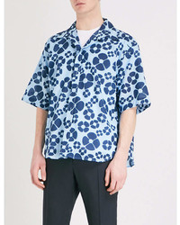 Marni Daisy Print Cotton Shirt