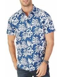 Nautica Floral Button Down Shirt
