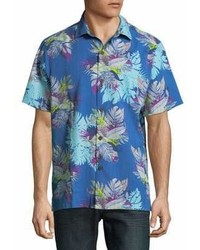 Tommy Bahama Floral Cotton Button Down Shirt