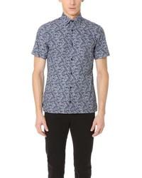 Floral print short sleeve shirt medium 1193239