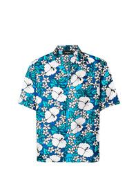 DSQUARED2 Hawaii Print Shirt