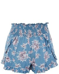 Floral ruffle shorts medium 5269774