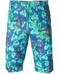 Paul & Joe Floral Print Bermuda Shorts