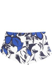 Printed crepe shorts medium 237776