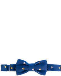fe-fe Fef Floral Embroidered Bow Tie