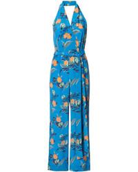 Diane von Furstenberg Floral Jumpsuit