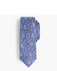 J.Crew English Silk Tie In Floral Print