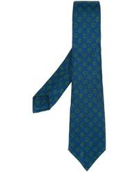 Kiton Floral Pattern Tie