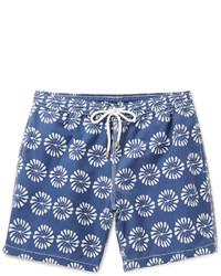 Hartford Mid Length Floral Print Swim Shorts