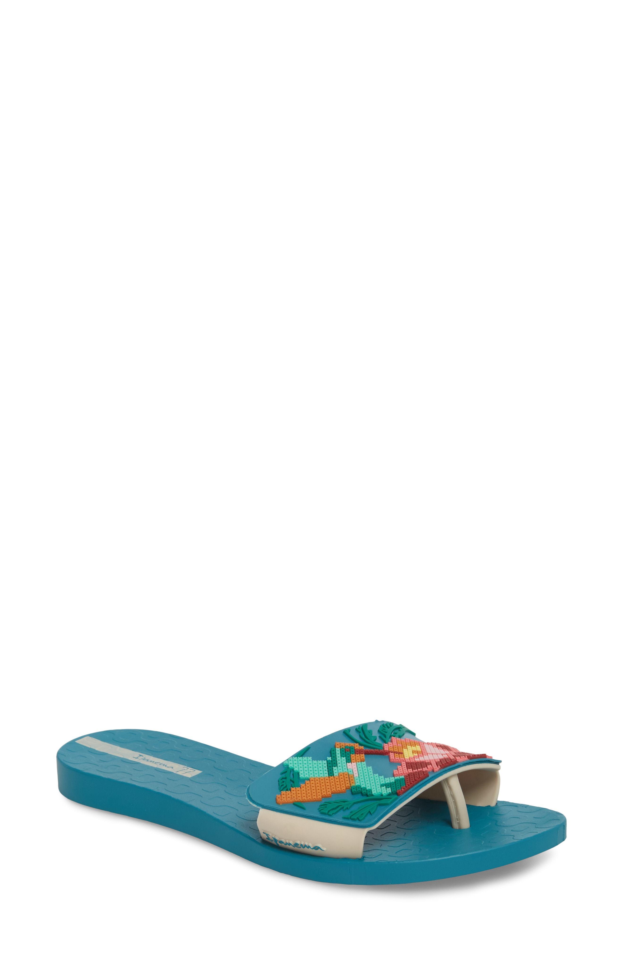 3eaa018955f ... Ipanema Nectar Floral Slide Sandal
