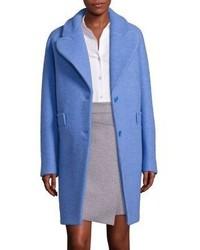 Carven Virgin Wool Blend Coat