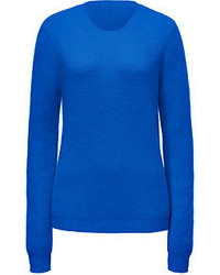 Jonathan Saunders Angorawool Sheeba Fluff Pullover In Blue