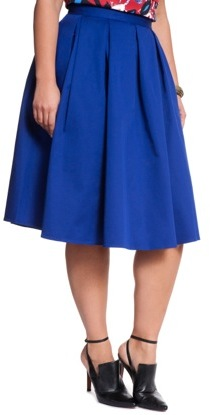 10e86caa6e300 ... ELOQUII Plus Size Studio Midi Skirt ...