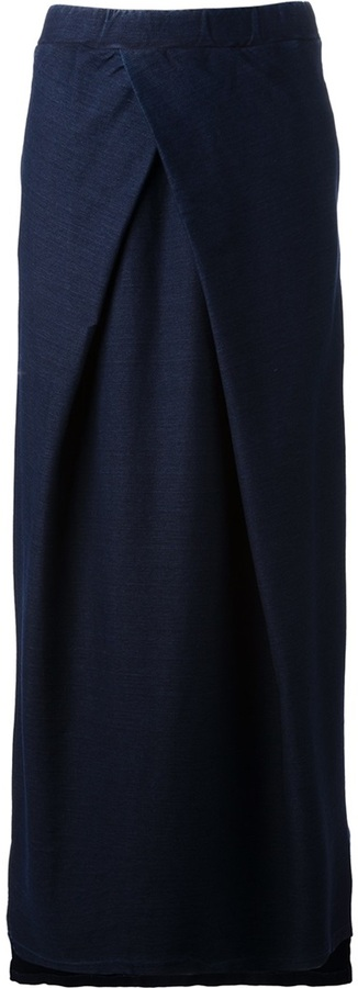 Maison Martin Margiela Mm6 By Pleated Maxi Skirt
