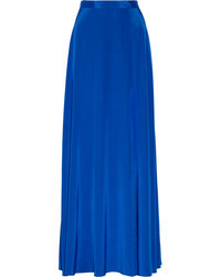 DKNY Stretch Silk Crepe De Chine Maxi Skirt