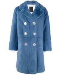Liska double breasted coat medium 3640166