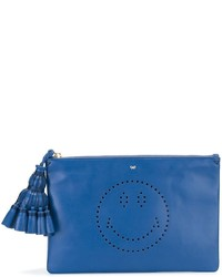 Anya hindmarch georgiana smiley clutch medium 689441