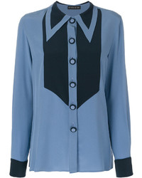 Etro Geometric Detail Tonal Shirt
